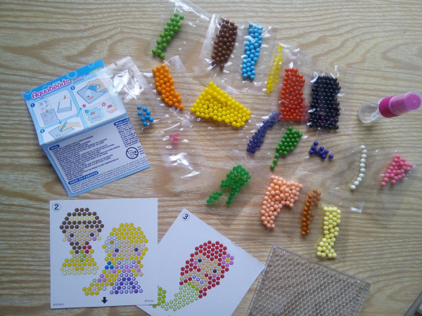 Disney Princess Aquadbeads review by Family Clan