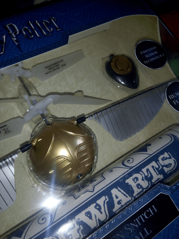Harry Potter Golden Snitch Heliball review by Family Clan