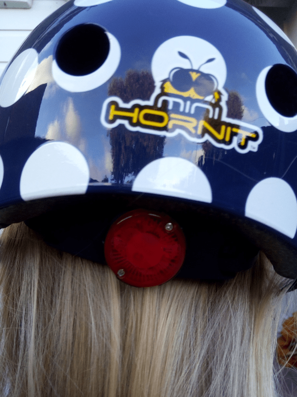 Mini Hornit Helmet review by Family Clan 4