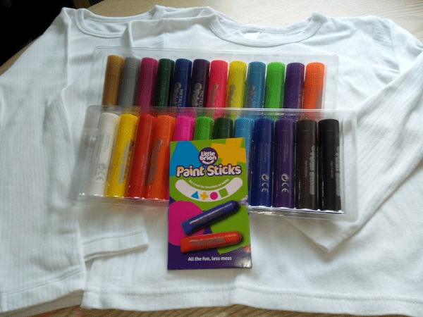 Paint Sticks by little brian review by Family Clan
