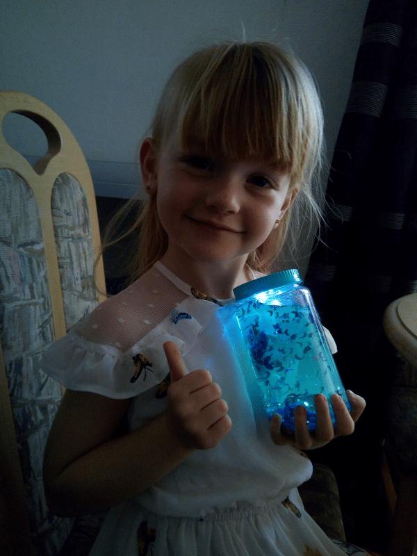 So Glow DIY Magic Jar review by Family Clan