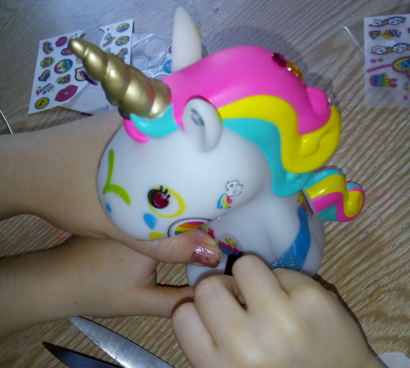 Style 4 Ever DIY Unicorn review by Family Clan