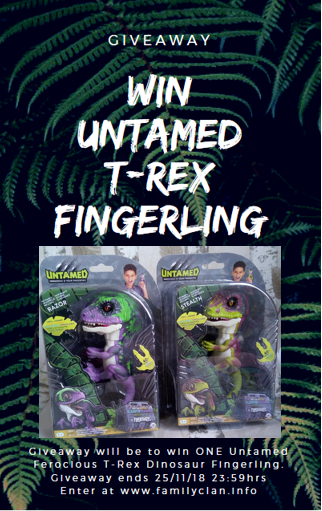 Untamted T-Rex Giveaway Family Clan
