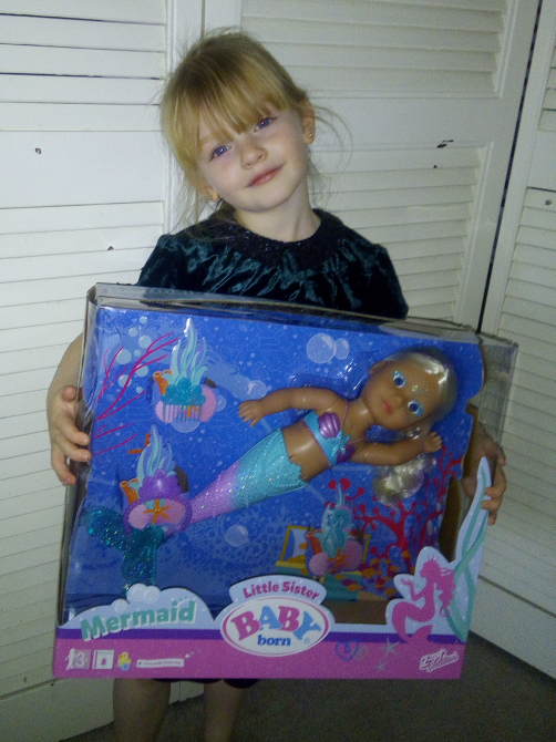 Baby Born Little Sister Mermaid Review Family Clan