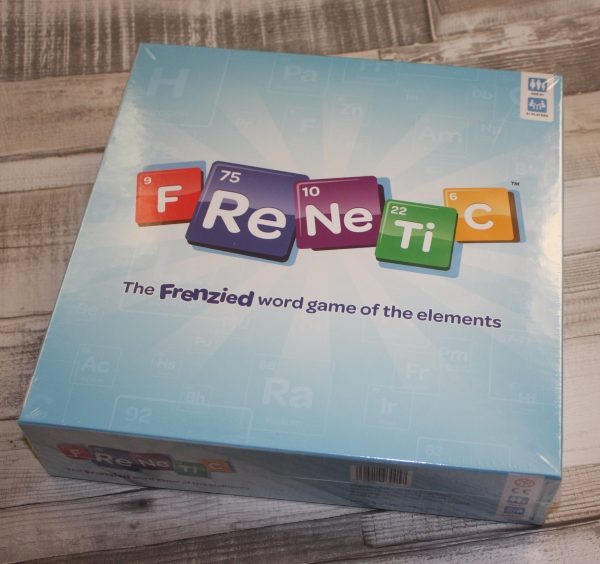 Frenetic Word Game Review by Family Clan