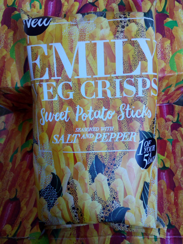 Emily Veg Crisps review by Family Clan