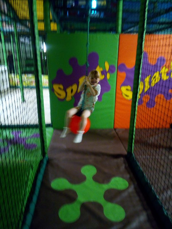 Grace at Soft Play
