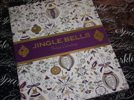 Jingle Bells Festive Fun Colouring Book Giveaway Family Clan