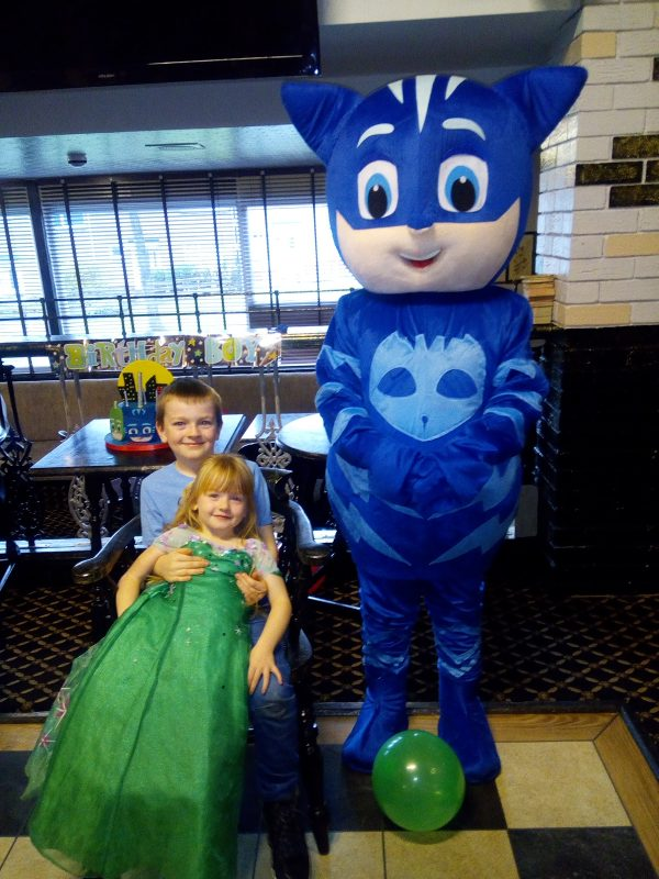 Sunday Snap 2nd December 2018 PJ Masks Birthday Party Family Clan