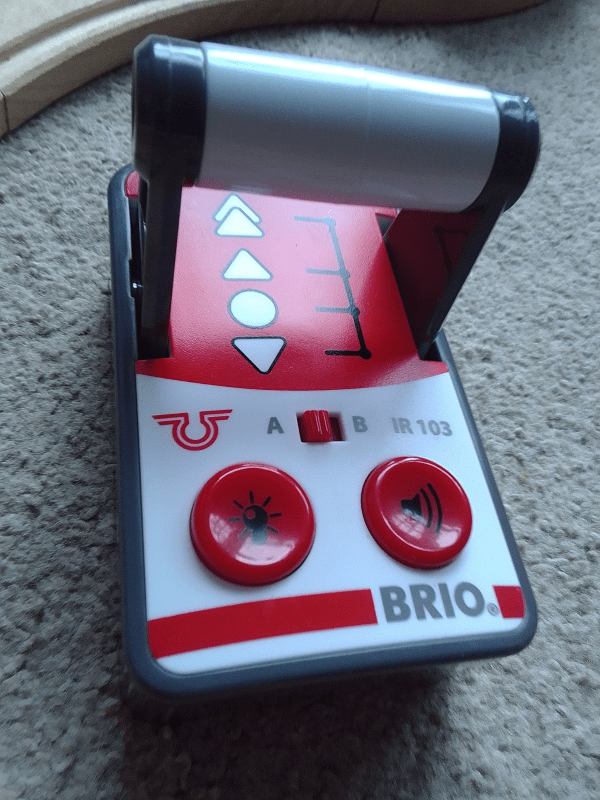BRIO Remote Control Travel Train review by Family Clan