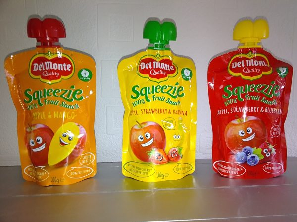Del Monte Squeezie Pouches Family Clan