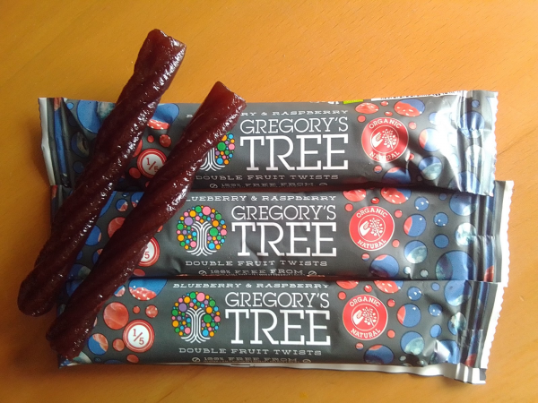 Gregory's Tree Fruit snack bars review by Family Clan
