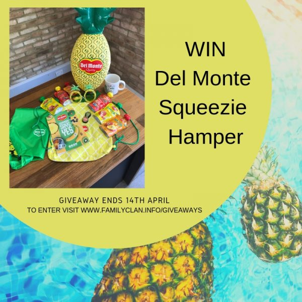 Win a Del Monte Squeezie Bundle Family Clan