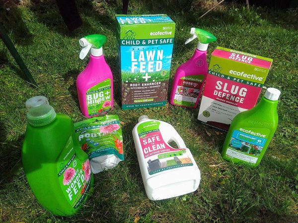 ecofective child and pet safe gardening products review by Family Clan 9