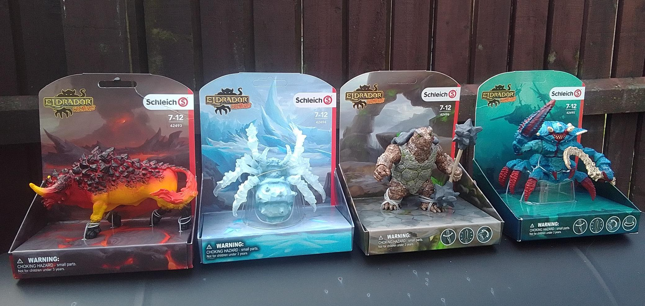 Schleich Eldrador review by Family Clan