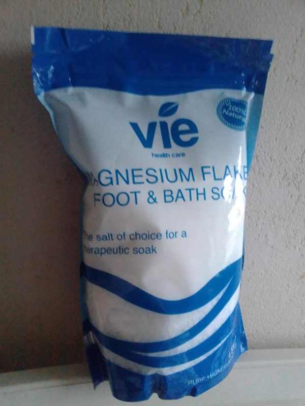 Vie Magnesium Flakes for Foot & Bath Soak review by Family Clan