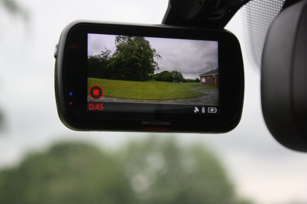 Nextbase 522GW Dash Cam Review In car photo's