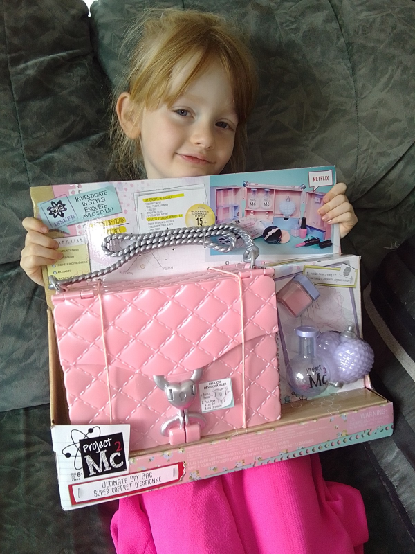 Project Mc2 Spy Bag review by Family Clan