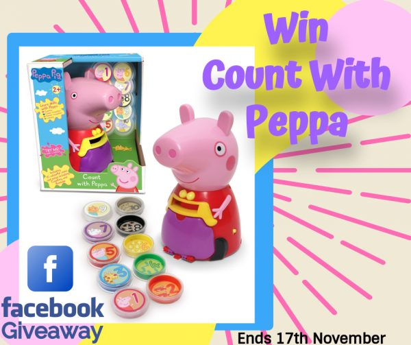 Win Count With Peppa Facebook Giveaway