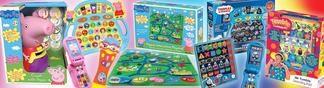 Early Learning Toys variety banner
