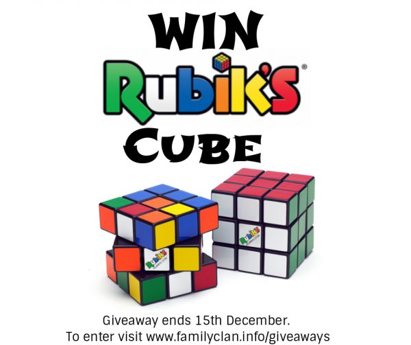 Rubiks Cube Giveaway Poster
