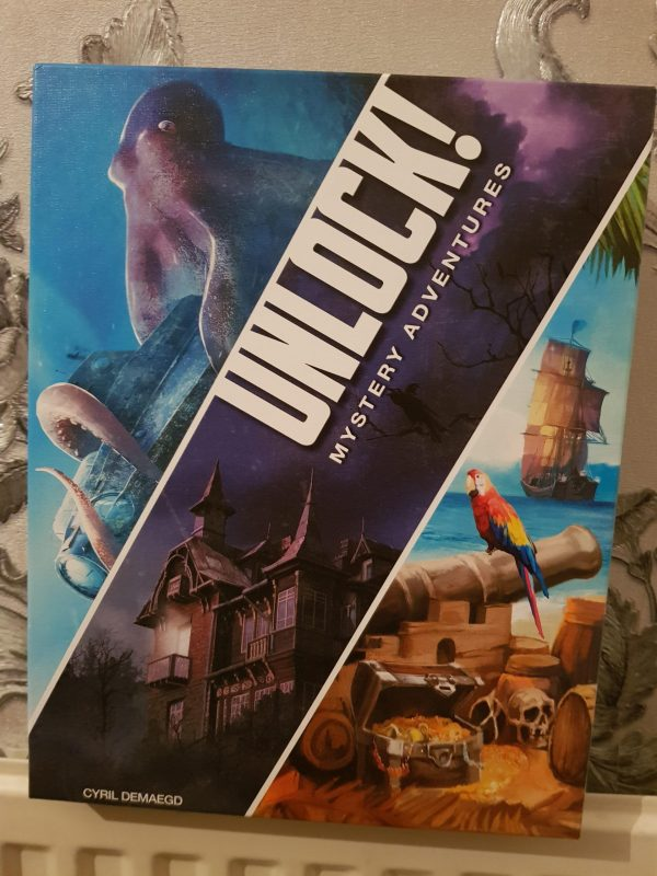 Unlock Mystery Adventures Board Game Review by Family Clan