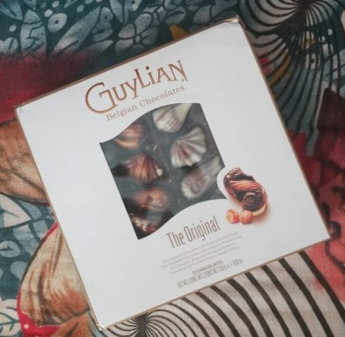 Guylian Chocolate Sea Shell Review Family Clan