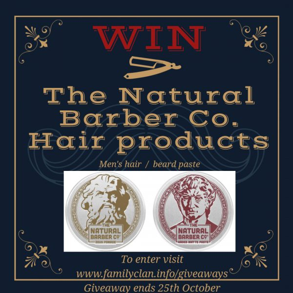 The Natural Hair Co. Hair products giveaway - Made with DesignCap