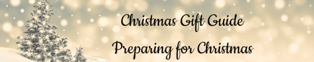 Christmas Gift Guide Banner - Preparing for Christmas - Made with DesignCap Family Clan