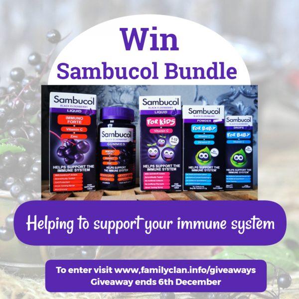Sambucol Giveaway Poster - Family Clan