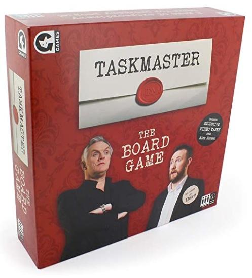 Taskmaster Board Game Family Clan
