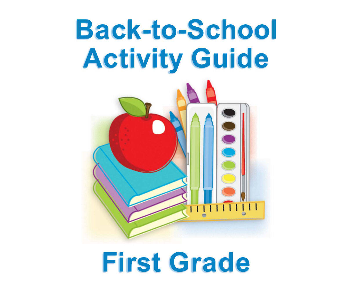 First Grade Summer Learning For Back To School