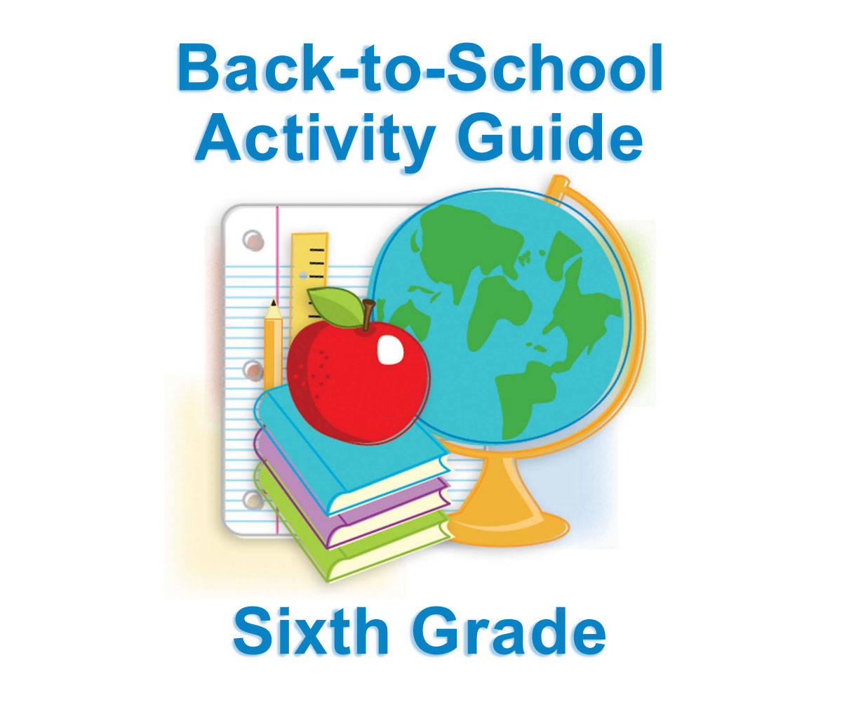 Sixth Grade Summer Learning For Back To School