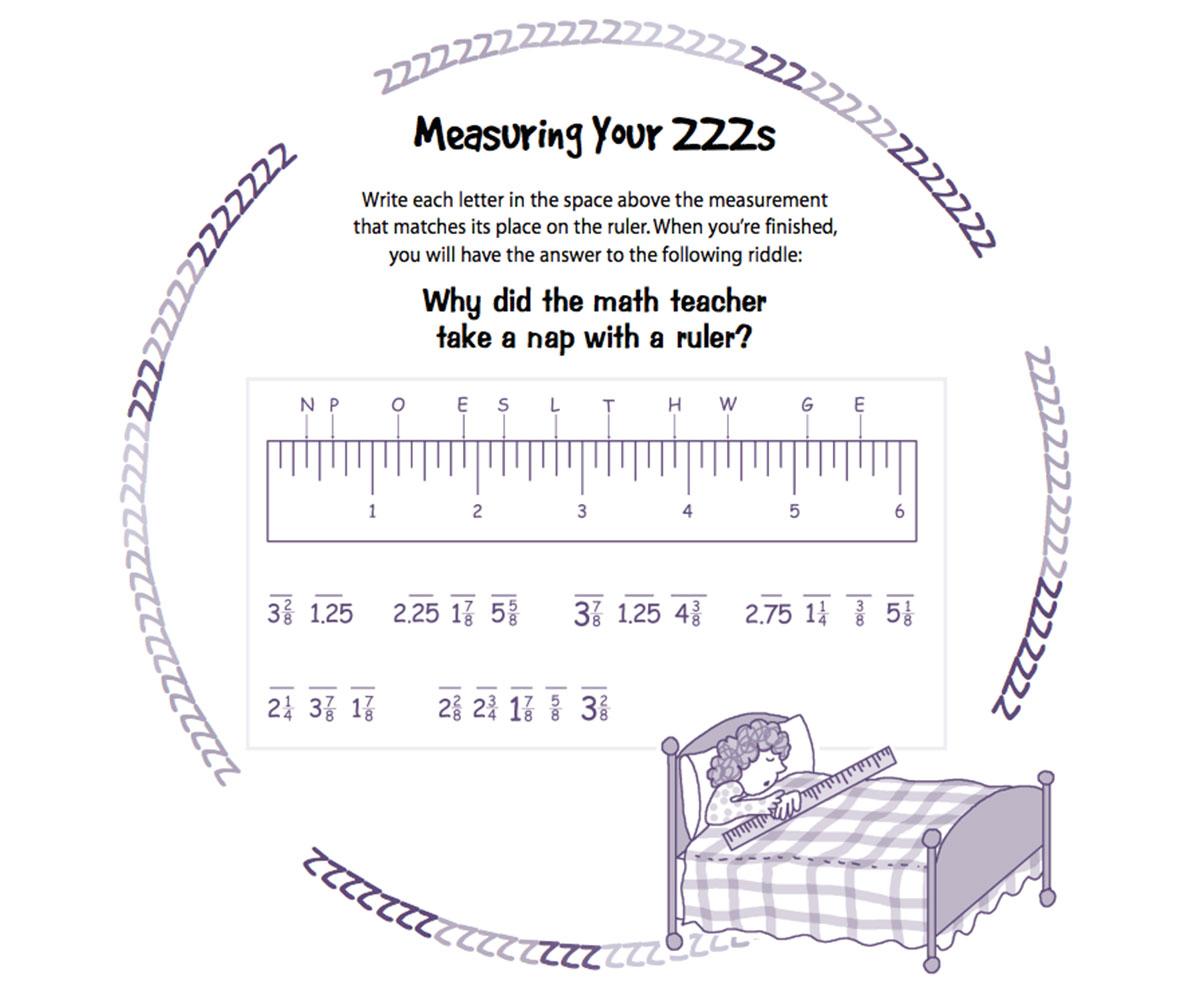 Measuring Worksheet Printable