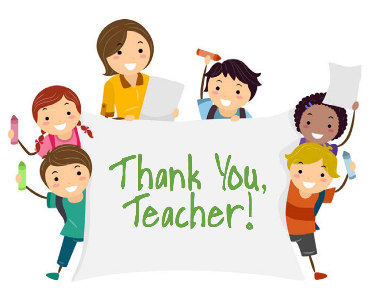 Teacher Appreciation Week Free Printable Thank You Card
