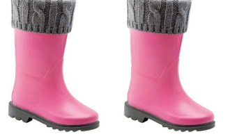 Pink Welly Boots