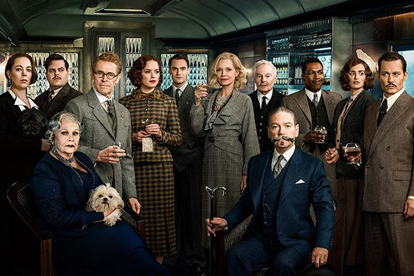 Murder on The Orient Express 2017 Cast