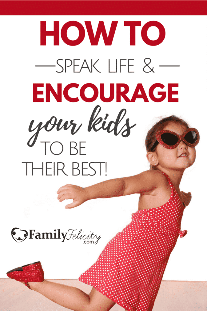 Our children need our words of life, encouragement, and love spoken into their lives. Learn how the words we speak can cause damage or help them become their best.