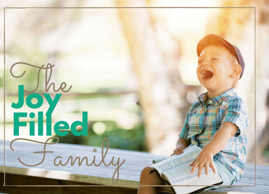 The Joy Filled Family Cover