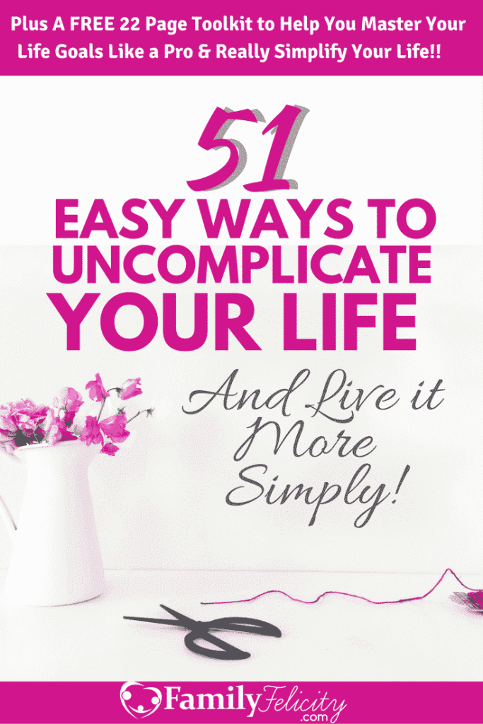 As moms we can too often default to doing things the hard way because they're comfortable and familiar. Click the image to get 51 Easy ways to stop doing things the hard way and start living your life more and running your home more simply!