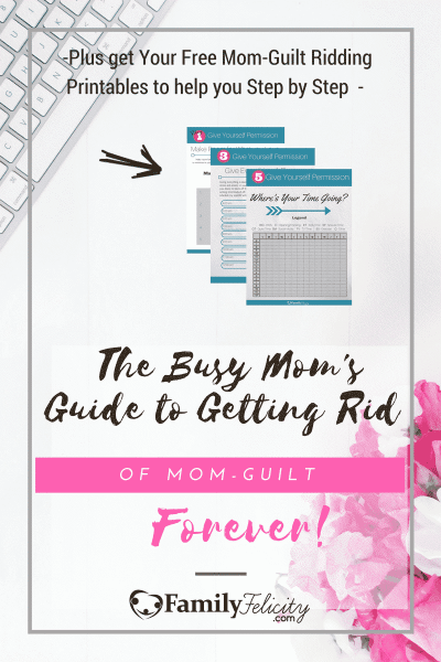 No mom can escape the temptation to be overwhelmed with mom-guilt. But we can be armed and ready when it shows up! Click the image to arm yourself with a plan to get rid of mom-guilt forever and be the best mom you can be.