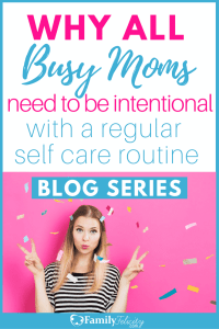 Busy moms tend to put everyone else first and their needs last. Being intentional about a regular self care routine is vital for every mom's overall health. This Epic Blog Series covers tips on how to easily add a regular self care routine that needs your physical, emotional, and spiritual needs.