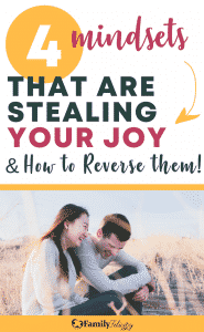 Experiencing more joy in your life can be hard and you need to first change your mindset. Here's how!