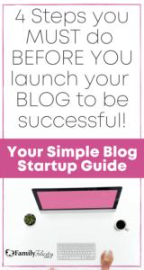 Complete blog start up guide