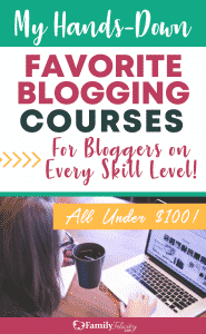 These amazing blogging courses for beginners and blogging pros is the advice and tips you need to grow your blog. My complete course review in post!
