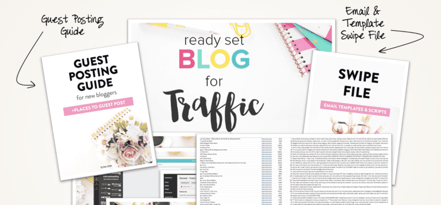 Ready set blog for traffic course