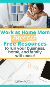 Many women are leaving their jobs to stay at home with their kids to run their own business. Work at home moms are the new stay at home mom. The work at home with kids life isn't easy, but these tips and strategies will help moms create healthy boundaries, stay productive, and enjoy their new freedom with their family.