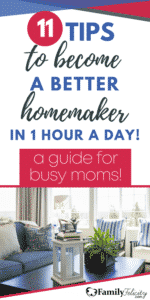 tips to become a better homemaker