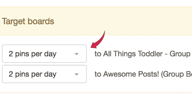 Boardbooster pin per days image