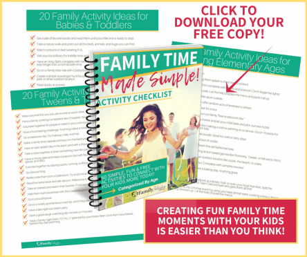 Family Time Made Simple Checklist